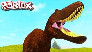 """Tyrannosaurus Rex: Bébé, jeune et adulte! Primal Life """"Roblox"""" (#12) (Gameplay/FR)"""