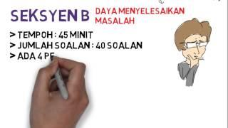Format Peperiksaan Penolong Penguasa Kastam W27 - 5 Ogos 2014