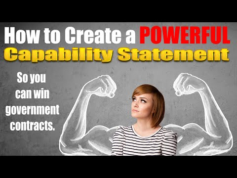 Capability Statement How To Create A Powerful Capability
