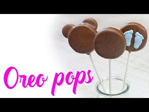 Oreo pops cubiertas de chocolate youtube for Paletas de cocina decoradas