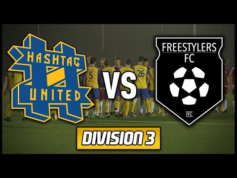 HASHTAG UNITED VS FREESTYLERS FC (feat. Daniel Cutting)