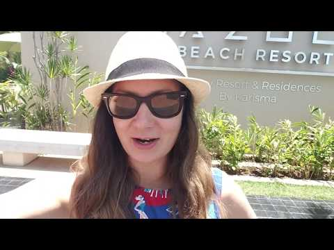 The Fives Azul Beach Resort Playa Del Carmen by Karisma - Plaza Fives and Room tour