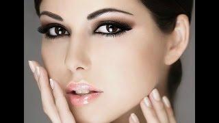 ♡Вечерний макияж/Вечерний макияж для голубых глаз♡