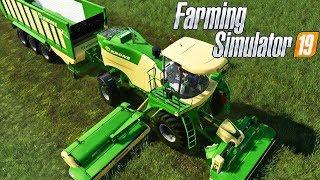 FARMING SIMULATOR 19 #126 - FALCIATRICE KRONE BIG-M 450 - GAMEPLAY ITA