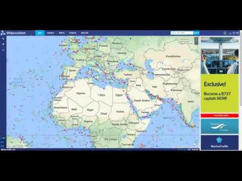 Marine Traffic and Vessel Finder