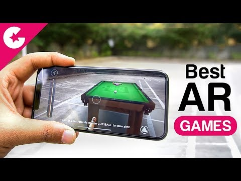 Top 5 Best AR Games For IOS 11 (Augmented Reality - AR Kit)
