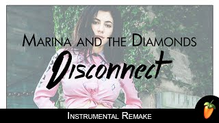 Clean Bandit & Marina & The Diamonds - Disconnect (Instrumental Remake) + Lyrics