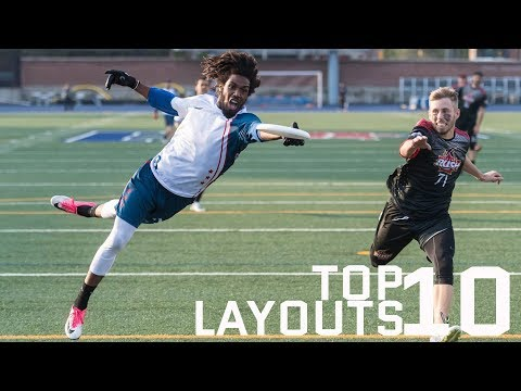 Top 10 Layouts From 2017 AUDL Season