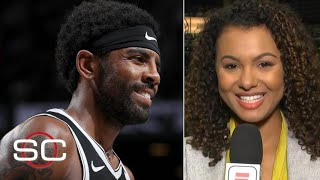 Kyrie Irving's Nets debut was a spectacle – Malika Andrews | SportsCenter