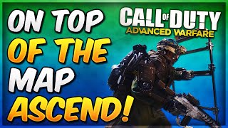 COD Advanced Warfare Glitches - ASCEND On Top of The Map Glitch! (AW Infected Glitches)