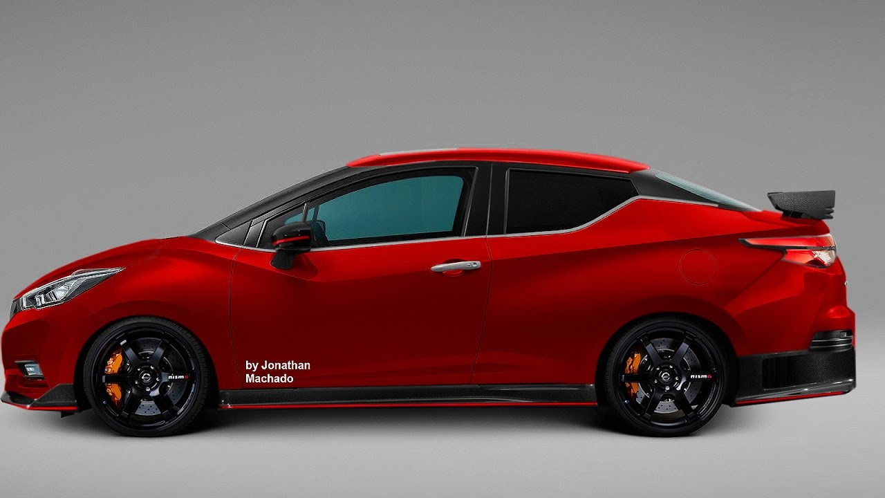 RENDER All-New 2019 Nissan Versa Coupe @ Almera Sunny ...