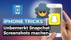 Unbemerkt Snapchat Screenshots machen ohne Benachrichtigung