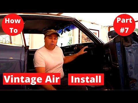 Vintage Air 70 Chevelle  SS454 Segement # 7 Dash & Interior