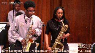 "James Ross @ North County Big Band - ""C Jam Blues"" - www.Jross-tv.com (St. Louis)"