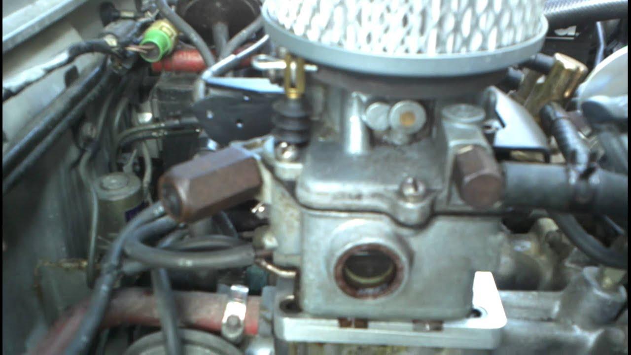 Chevrolet Sprint Engine Running Datsun Carburetor