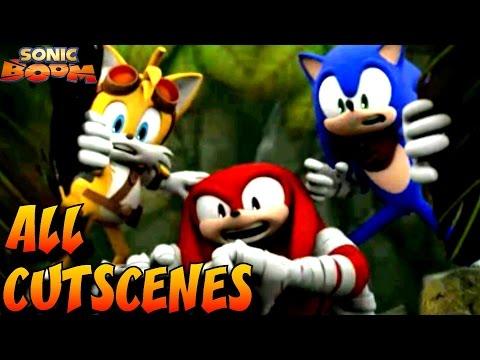 Sonic Boom: Fire & Ice - All Cutscenes Full Movie HD