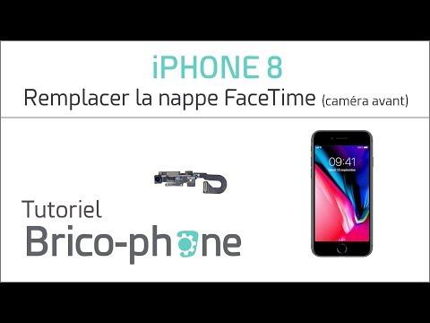 Tutoriel IPhone 8 : Remplacer La Nappe FaceTime (caméra Avant)