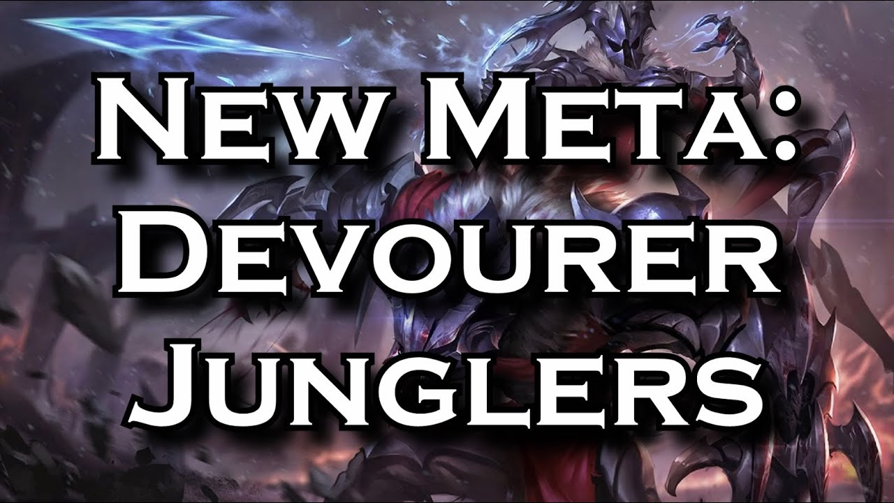 New Meta On Hit Devourer Attack Speed Junglers League Of Legends Lol Youtube