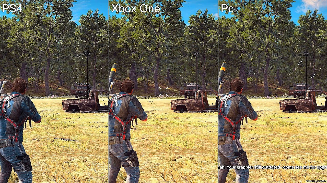 just cause 3 ps4 vs xbox one vs pc graphics comparison. Black Bedroom Furniture Sets. Home Design Ideas