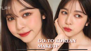 🌹GO-TO KOREAN MAKEUP คิดไม่ออกบอกลุคนี้ สไตล์เกาหลี! | Babyjingko
