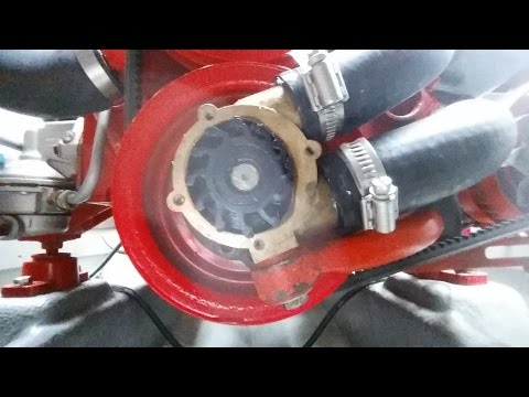 Volvo Penta AQ211A sea water pump impeller replacement ...