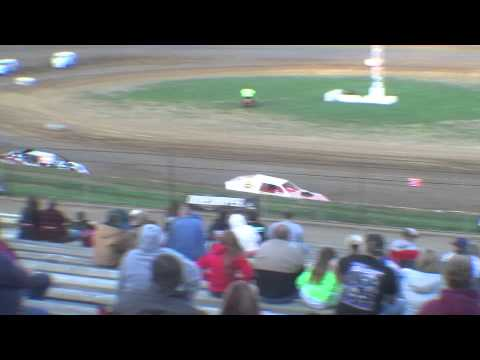 4 19 14 Lincoln Park Speedway Ump Modified Heat Race 2