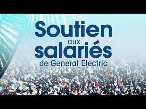 Soutien Aux Salariés De GE Juin 2019 à Belfort