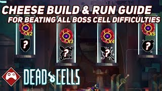 Dead Cells | Cheese Build & Run Guide - Beating all Boss Cell Difficulties (Corrupted Update V1.5)