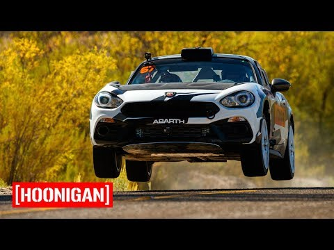 [HOONIGAN] Field Trip 010: Mexican Hillclimb with Sara Price and the Fiat 124 Abarth Rally