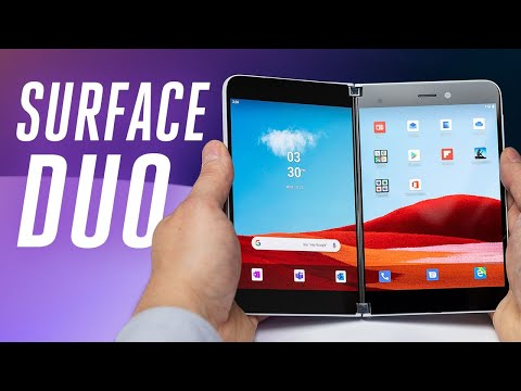 Surface Duo first look: Microsoft's foldable Android phone