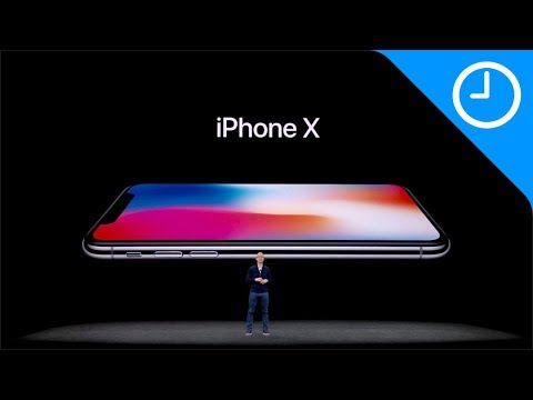 iPhone X keynote in less than 12 minutes!