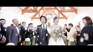 名古屋を中心に結婚式のショートフィルム映像・エンドロールムービービデオをドラマチックに制作.
