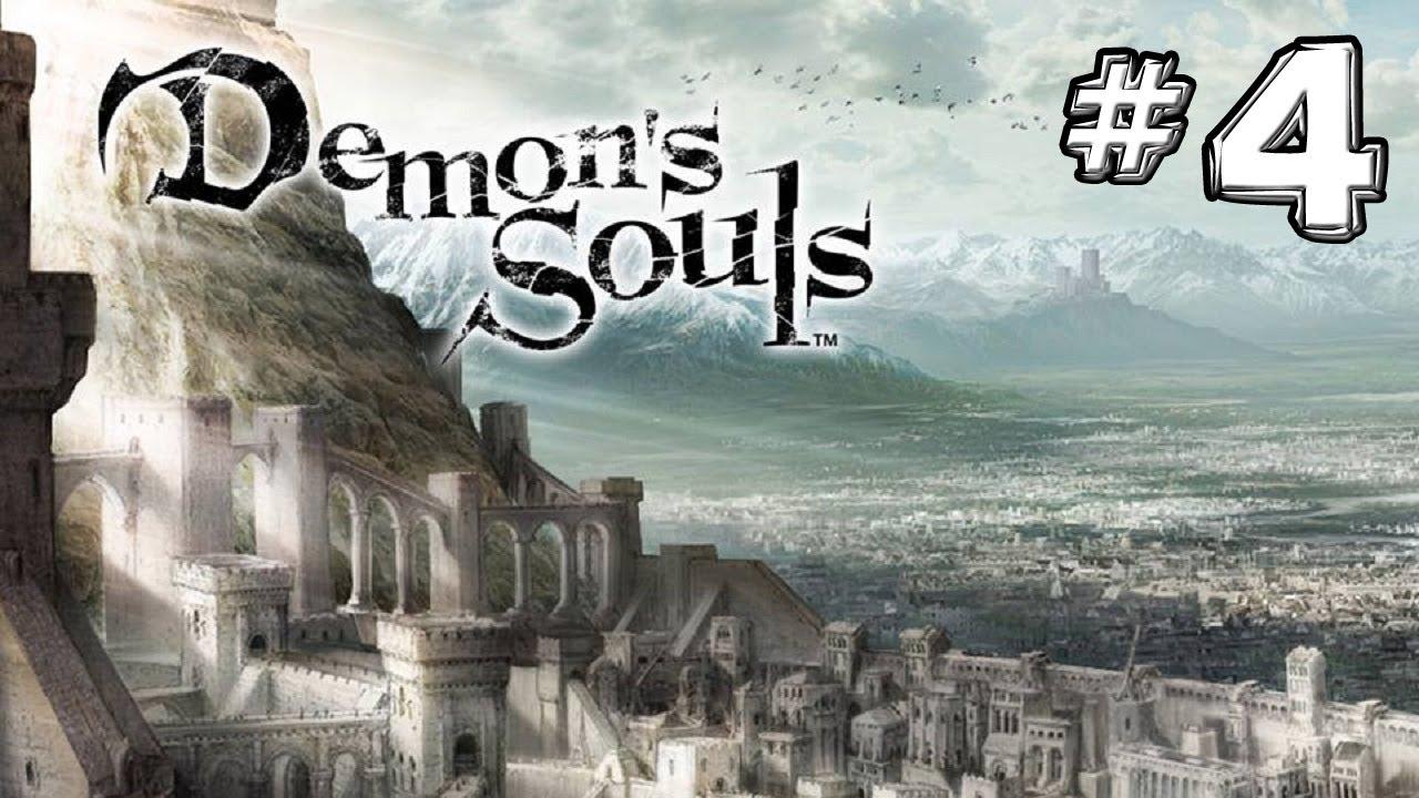 Demon S Souls Walkthrough Phalanx Archstone Tower Knight Boss 1 2 Pt 4 Youtube