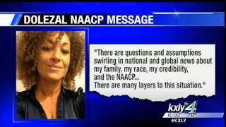 Dolezal releases statement to NAACP members