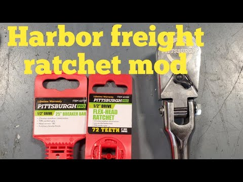 Repeat Harbor freight ratchet mod by SubieTech 1 6L - You2Repeat