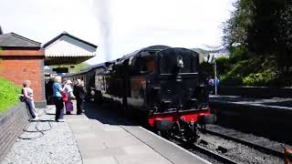 Steam Train Leaves The Station, But ALL Sounds is Ricky Gervais Laughing