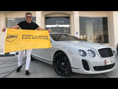 GMG GARAGE QATAR'da ( Bentley & Mustang Shelby Wrap)