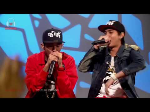 G Fatt & Ice Cold Myanmar Freestyle Rapping