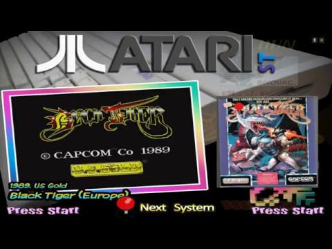 L'Atari ST sur Hyperspin avec la Shield TV