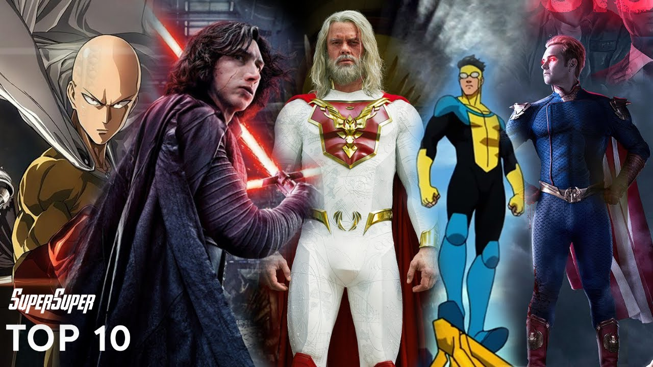 Top 10 Fictional Universe other than Marvel & DC | SuperSuper