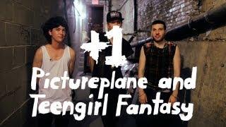 Pictureplane and Teengirl Fantasy +1