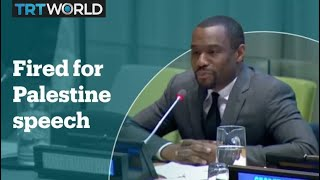 CNN commentator fired after 'free Palestine' speech at UN Marc Lamont Hill, a CNN commentator, has been fired after giving a speech on the Israel-Palestine conflict at the UN. #MarcLamontHill, #CNN, #Palestine.
