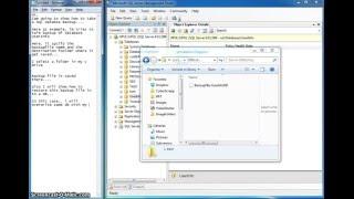 How to Backup a Database using Management Studio | Restore SQL Server database & overwrite existing