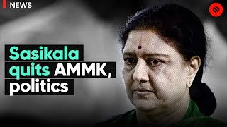 As BJP wants her in ADMK, Sasikala stuns: 'Withdrawing from Politics'