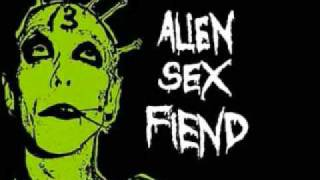 Watch Alien Sex Fiend Here Cum Germs video