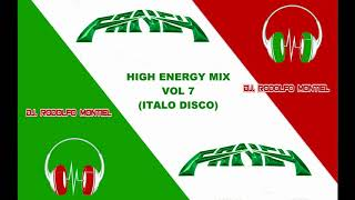 Скачать DJ RODOLFO MONTIEL HIGH ENERGY MIX VOL 7 ITALO DISCO