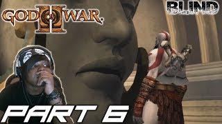 KRATOS RUNS INTO ATHENA | God Of War 2 [BLIND]  Walkthrough / Gameplay  - Part 6
