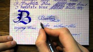 Inkcylopedia Baystate blue