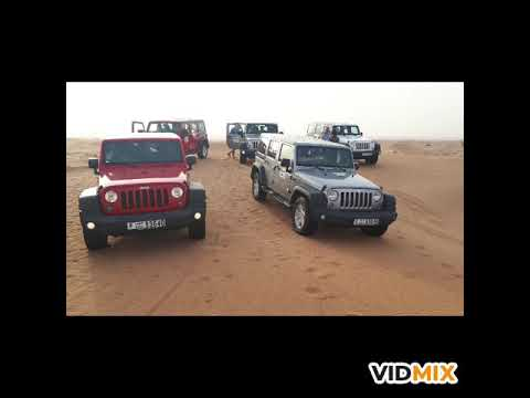 Travco Jeep safari DDCR Dubai