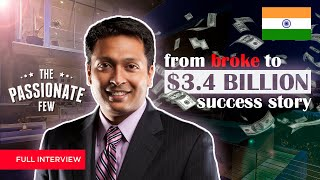 SHARRAN SRIVATSAA: From BROKE To $3.4 BILLION DOLLAR SUCCESS STORY! (Must Watch Interview)